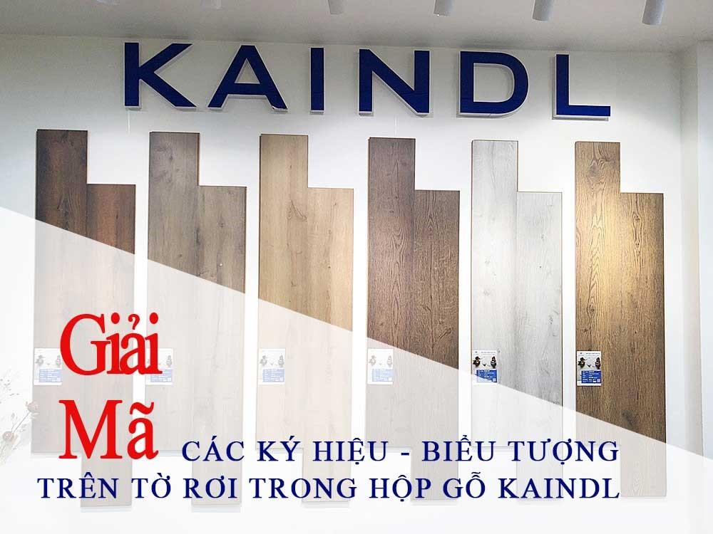 Giải Mã Các Ký Hiệu trên sàn gỗ kaindl