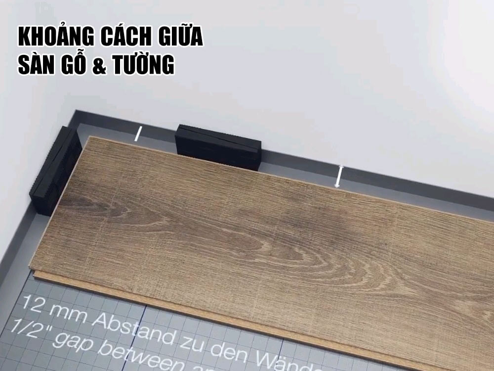 Quy trình thi công, lắp đặt sàn gỗ công nghiệp chuẩn