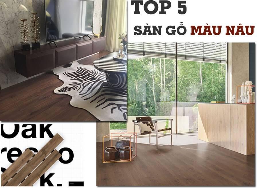 top 5 mẫu sàn gỗ ưa chuộng nhất hiện nay