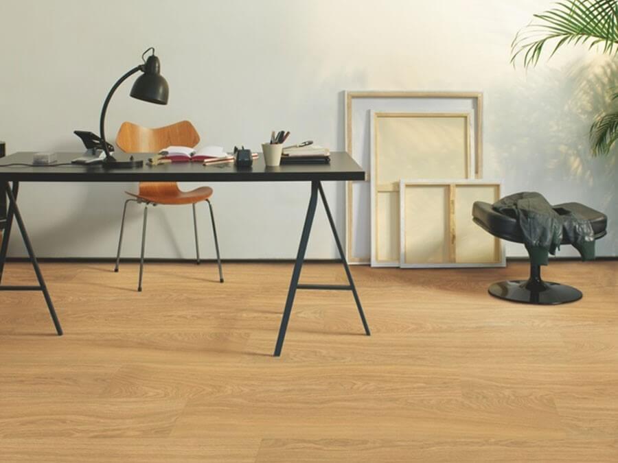 mẫu sàn gỗ màu vàng đẹp ấn tượng