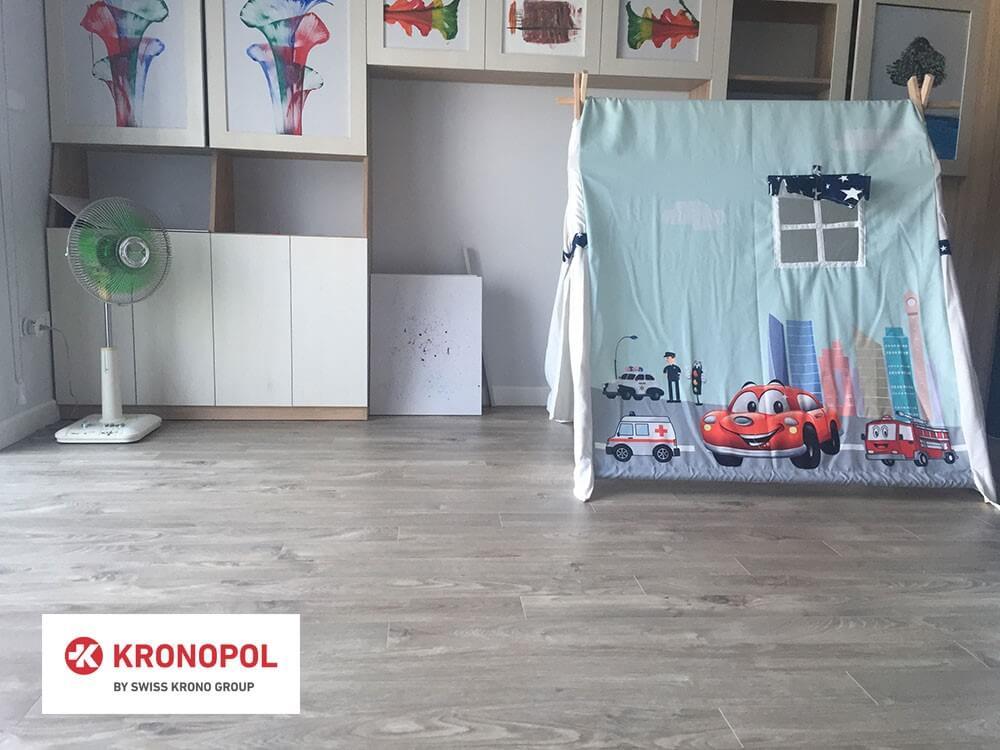 Sàn gỗ Kronopol D3034 Sàn gỗ màu xám top 5 mẫu sàn gỗ hot nhất 2020