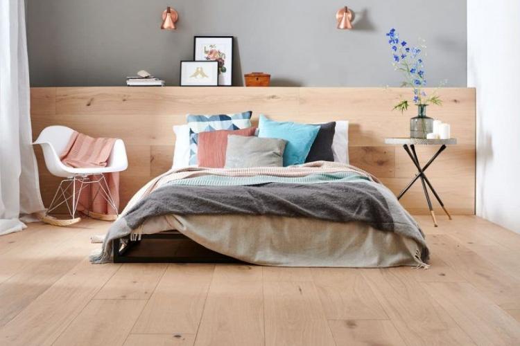 Mẫu sàn gỗ phòng ngủ được ưa chuộng nhất hiện nay