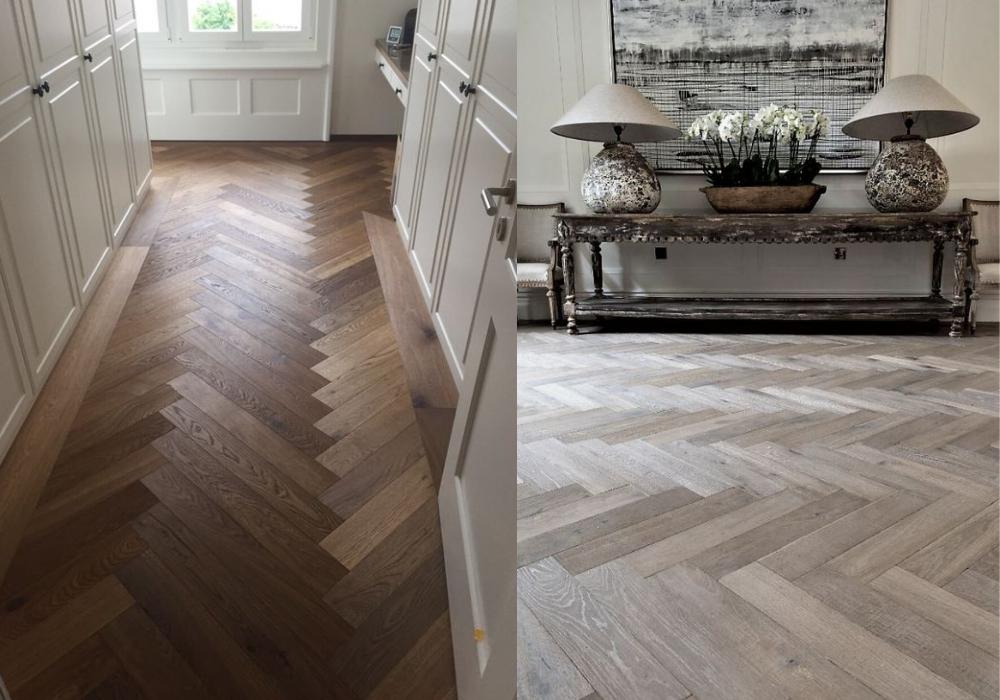 sàn gỗ xương cá kaindl