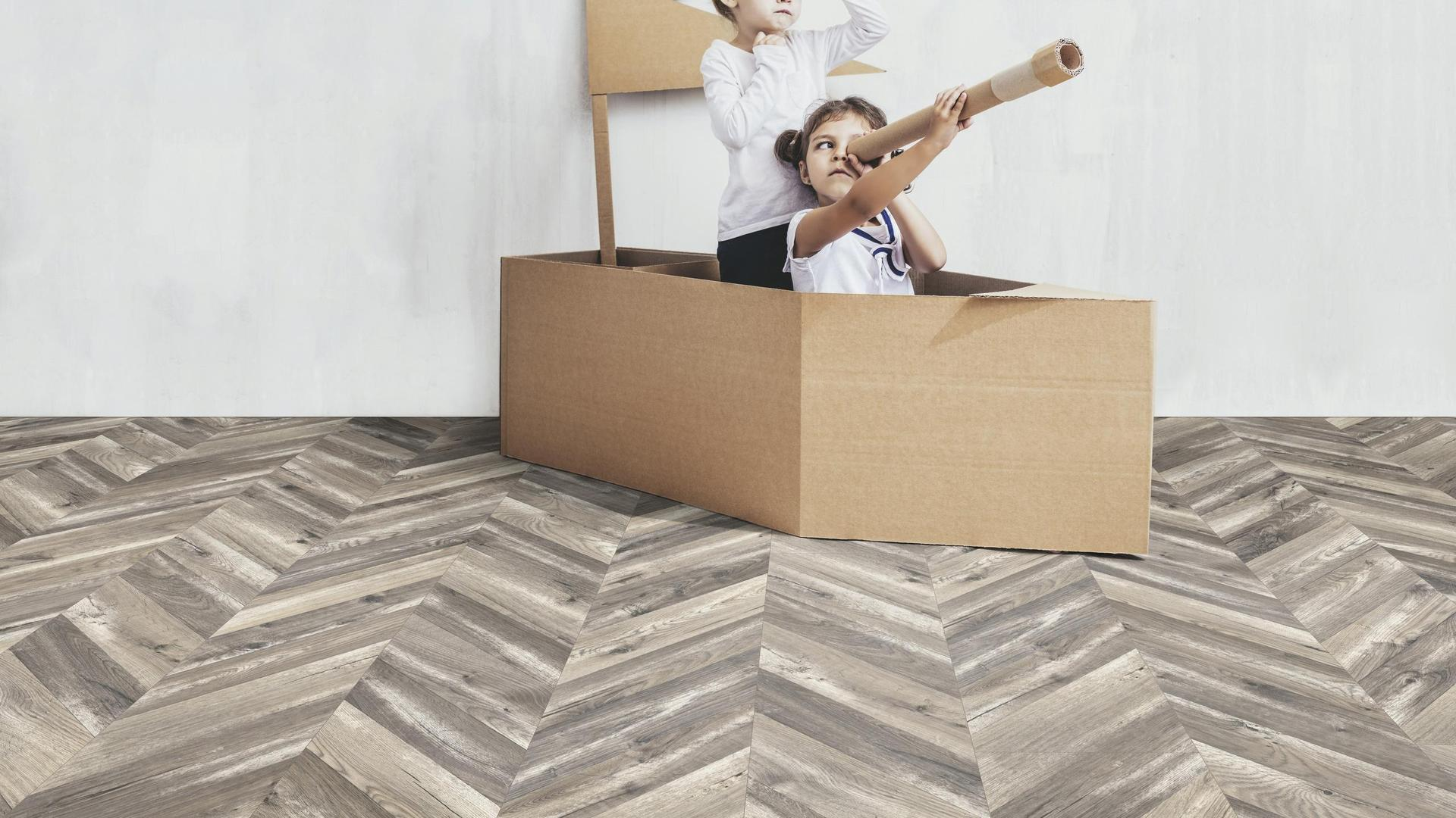 Sàn gỗ Kaindl Xương cá K4439